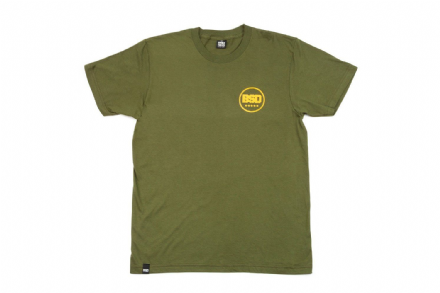 BSD Fully Roasted T-Shirt - Surplus Green - Small